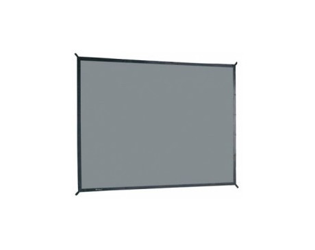 Toile Retro pour Ecran Cadre : 2.40 x 1.80 m