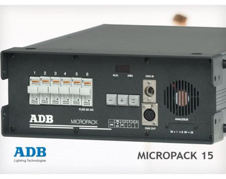location bloc de puissance DMX - 6 circuits de 2.3 kW