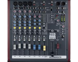 location console de mixage analogique allen et heath