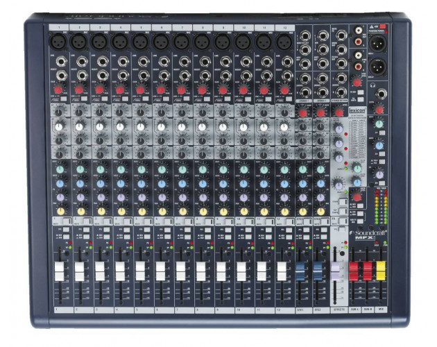 location table de mixage micro soundcraft