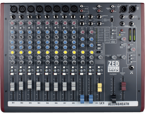 location console de mixage allen et heath