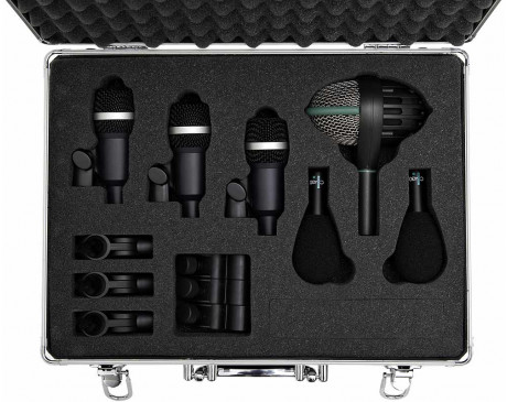 location kit Batterie AKG comprenant 6 micros