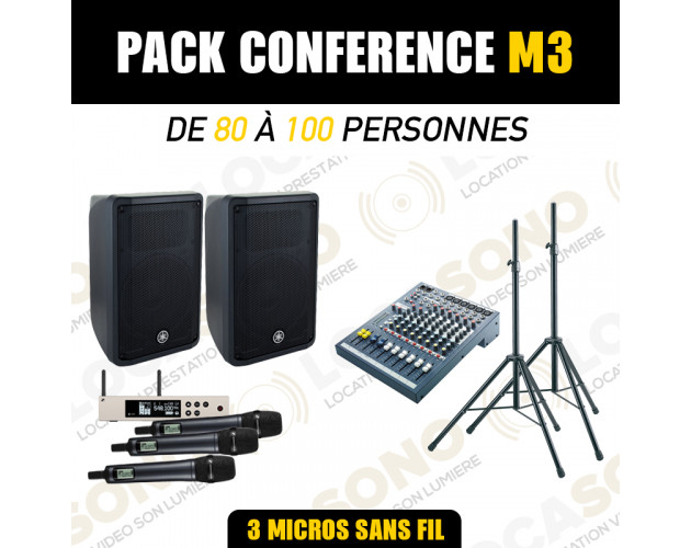 location pack son micro sans fil
