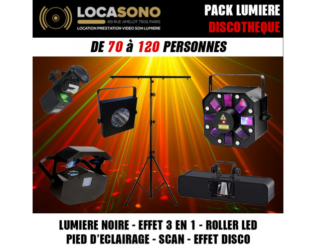 location pack lumiere discotheque