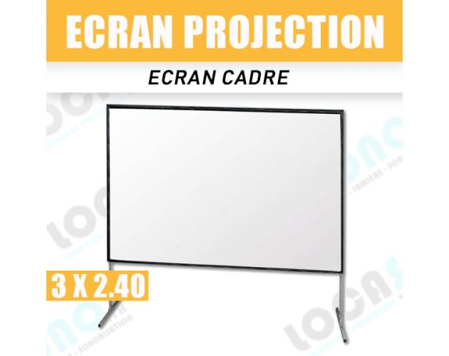 location ecran cadre de projection professionnel