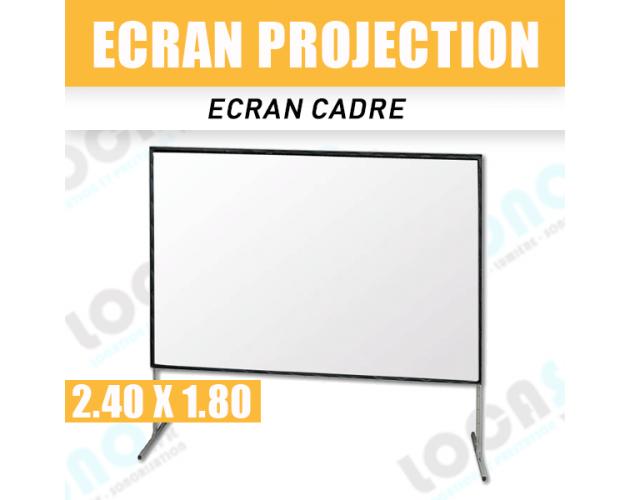 location ecran de projection cadre