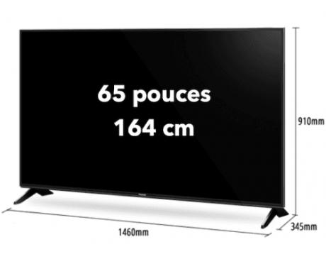 location écran led 65 pouces