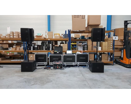 location line array