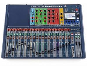 location console de mixage numérique soundcraft si expression2