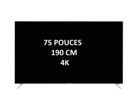 location écran LED 75 pouces Full HD 190cm SONY
