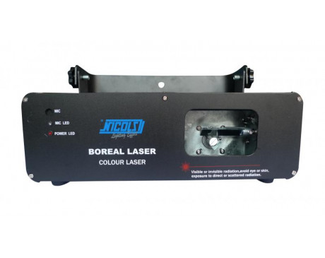 location effet d'animation laser