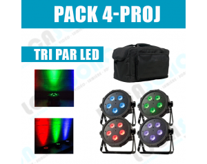 location pack projecteur led