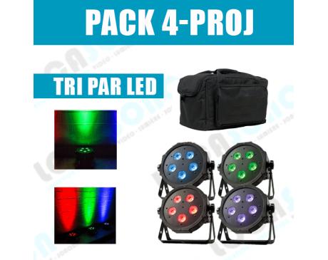location pack projecteur led