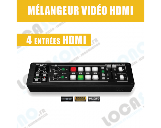 location mixeur video rolan v1 hd