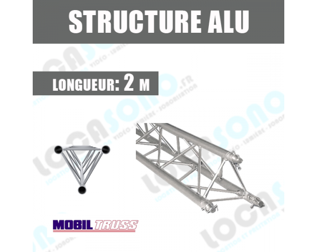 location structure alu 2m