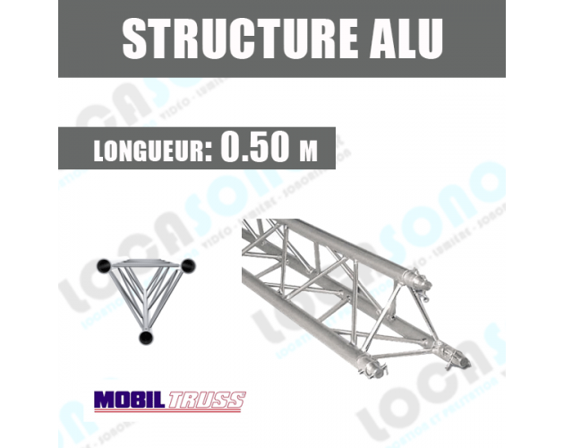 location structure aluminium 50cm