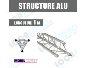 location structure aluminium triangulaire