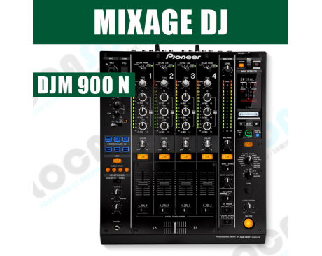 location PIONEER  DJM 900 Nexus 2 table de mixage DJ 4 voies
