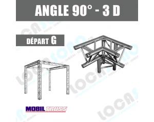location angle structure alu 3 départs