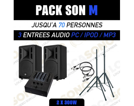location pack son soiree