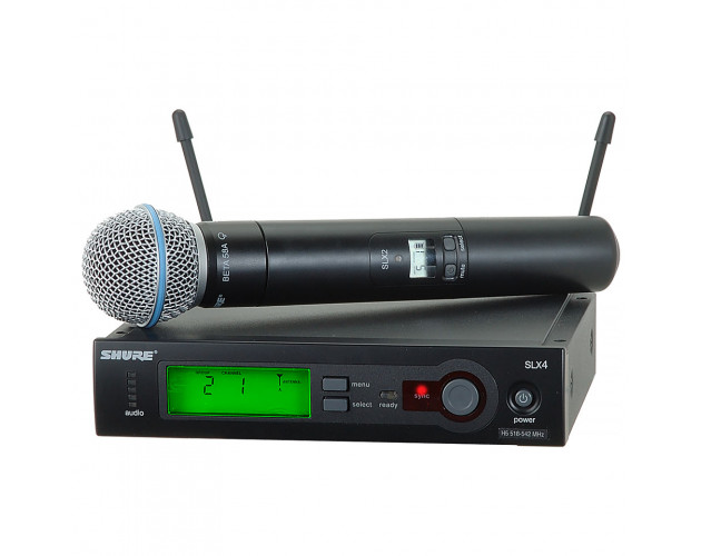location micro sans fil shure slx4 micro beta 58