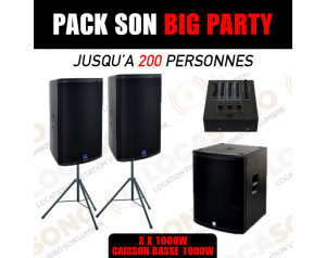 location pack Big Party...