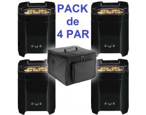 location pack 4 par led sur batterie