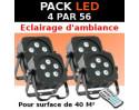pack projecteur PAR 56 LED