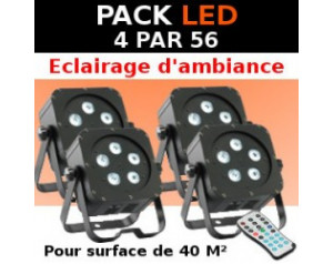 pack projecteur PAR 56 LED