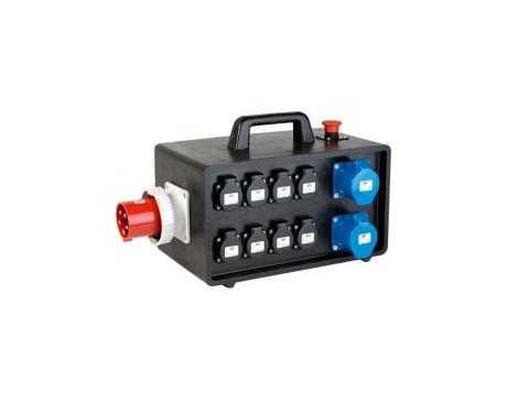 Armoire boitier électrique 63A TRI + 30mA