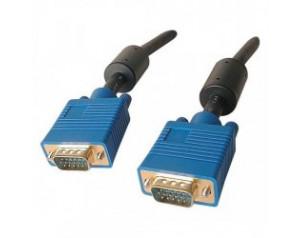 Câble VGA 10 m avec ferrite...