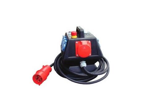 Armoire electrique 32A TRI (6 sorties sur PC 16A)