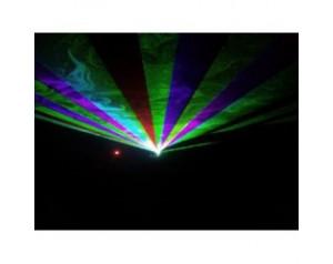 effet laser multicouleur