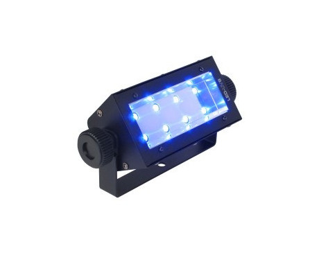 Lumière NOIRE à LED 8X1W