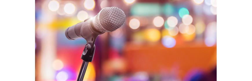 location gamme de micros sans fil pour chant ou discours